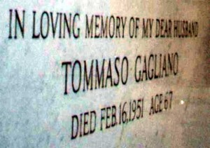 Gagliano Tomb Inscription
