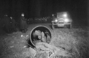 1903 Barrel murder crime scene photo